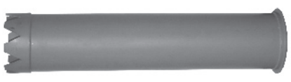 "Picture of 12"" Steel Catch Basin Tube (dig tube)"