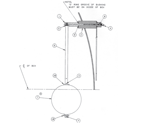 Picture of Float Indicator Assembly Parts