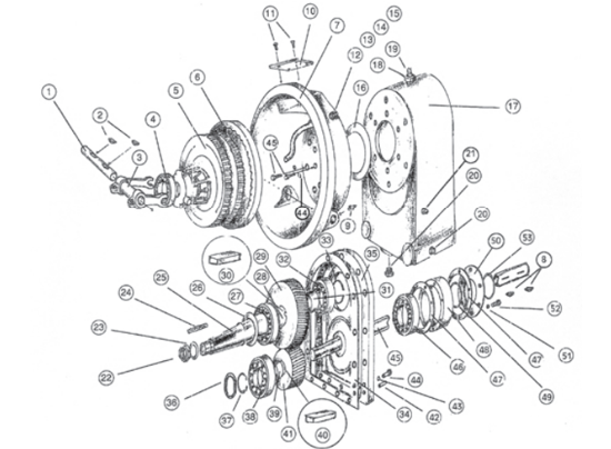 Picture of Transmission Complete with Clutch