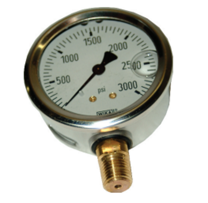 Picture of 0-3000 PSI Pressure Gauge