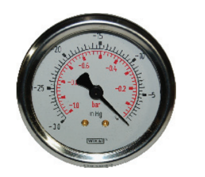 "Picture of 0-30"" Vacuum Gauge"