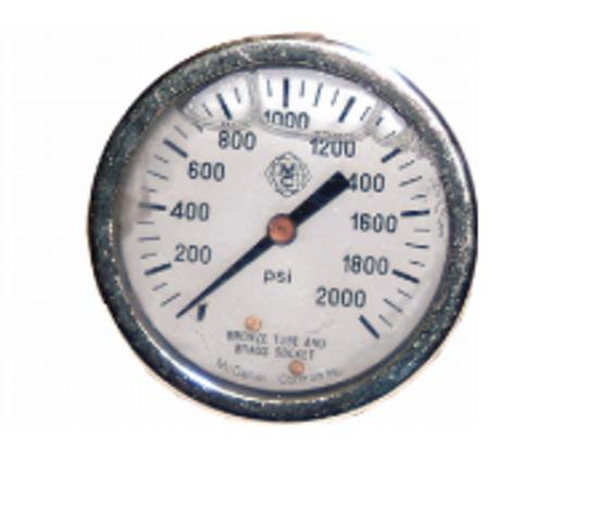 Picture of Universal Front Panel Mount Pressure Gauge