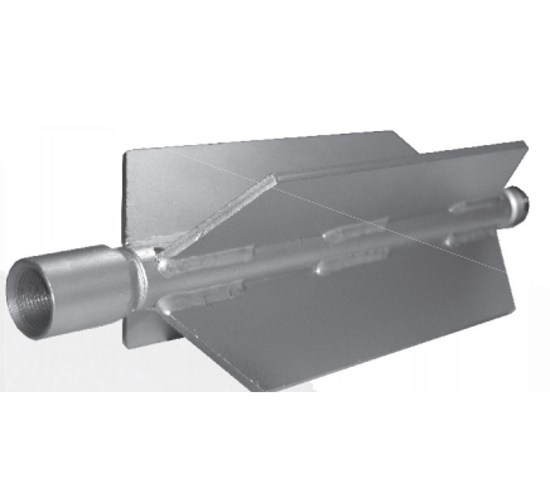 Picture of Finned Style Nozzle Skid Extension