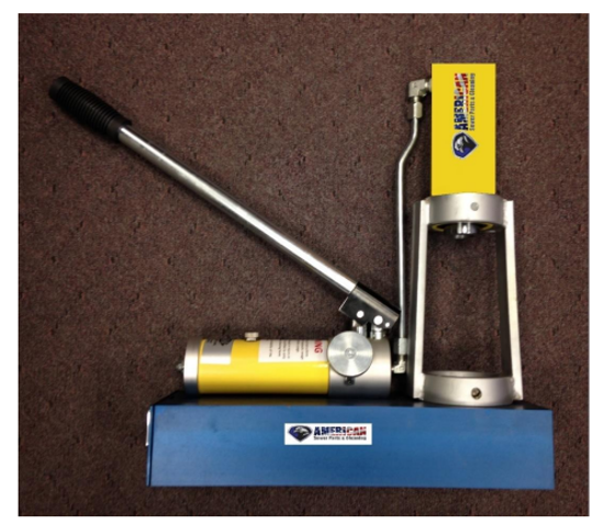 """Picture of Brutus Swage Machine – ¼"""" to ½"""" NPT"""